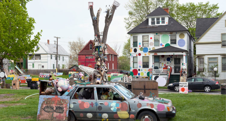Heidelberg Project Artist Tyree Guyton Has Solo Show At Cue Gallery In New York City