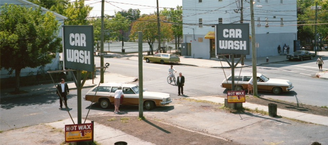 Car Wash, Production Still from Car Wash Incident, photo by Monia Lippi