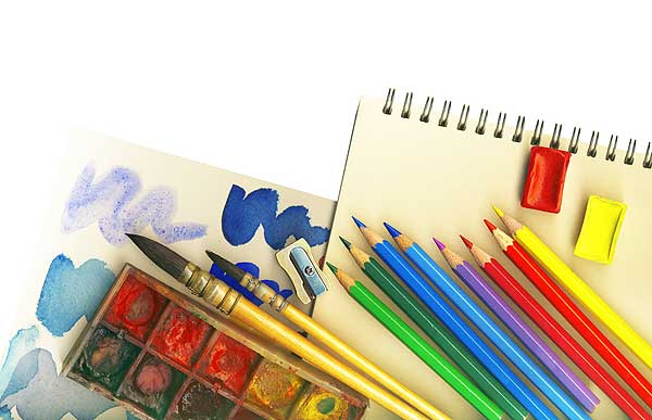 Image result for art supplies images
